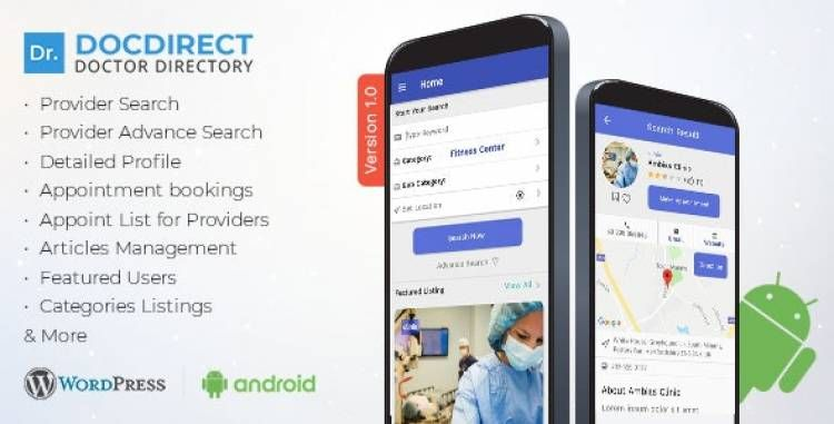 DocDirect App Doctor Directory Android Native App