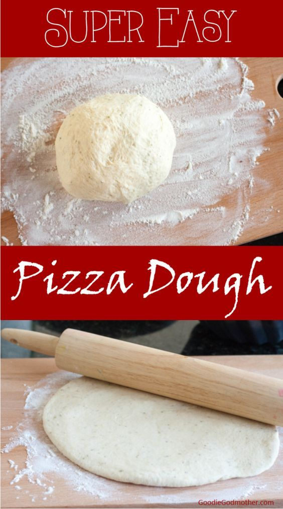 Super easy make ahead pizza dough using your food processor recipe super easy make ahead pizza dough using your food processor recipe on goodiegodmother forumfinder Images