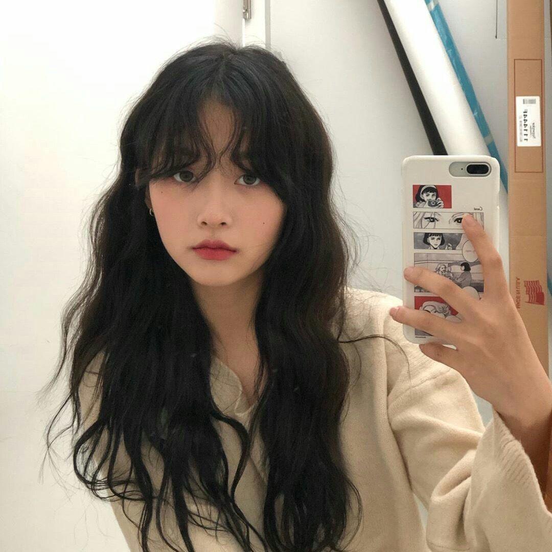 Kaylabud Dont I Look Scary X Afporange Arcticfoxhaircolor Orangehair Dyedbangs Hair Inspo Color Hair Streaks Aesthetic Hair