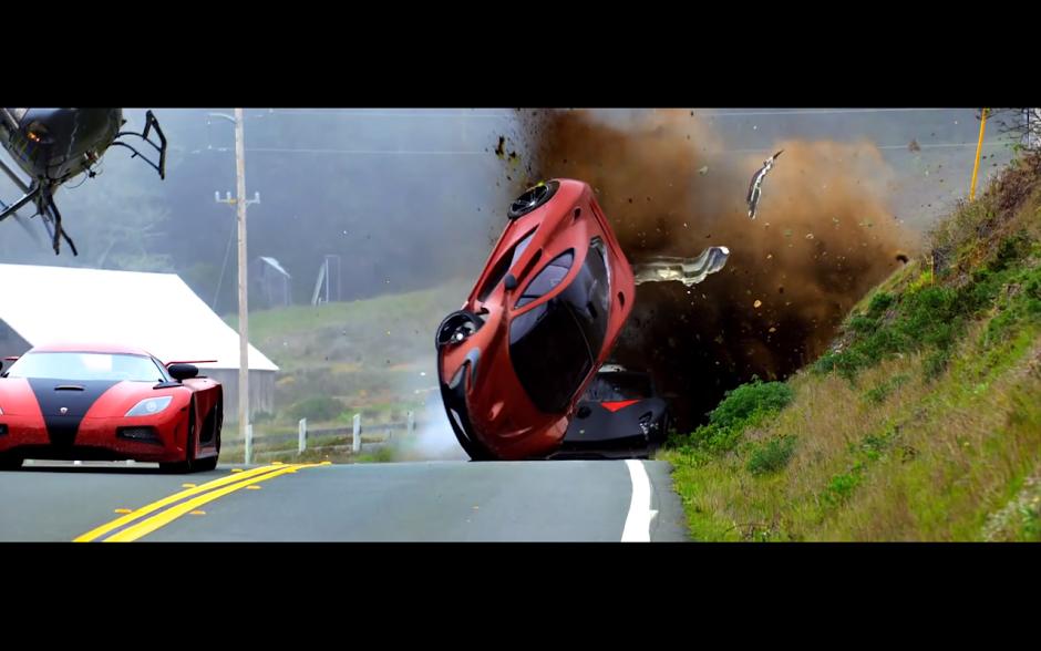 McLaren P1, Bugatti Veyron Super Sport, Several Koenigsegg Ageras, A Crazy  Ford Mustang