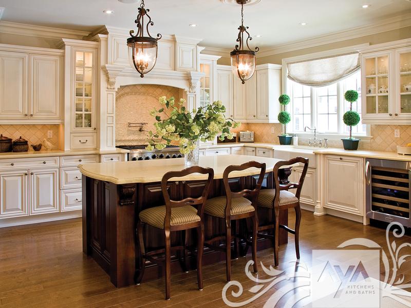 Canadian Kitchen And Bath Cabinetry Manufacturer Kitchen Design Professionals Lexington Glazed Kitchen Design Classic Kitchens Professional Kitchen Design