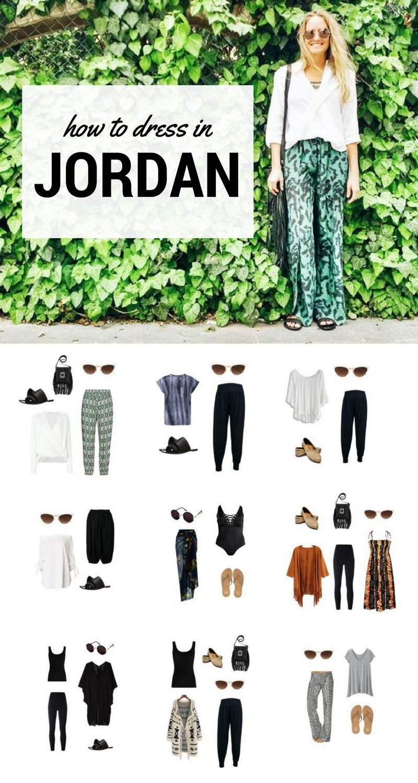 How to Dress in Jordan and Look Cute & Conservative #traveltojordan