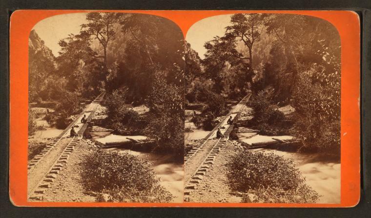 Stereoscopic views of Utah. Stereoscope cards