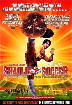 Shaolin Soccer 2001 Film Di Arti Marziali Arte Marziale Poster