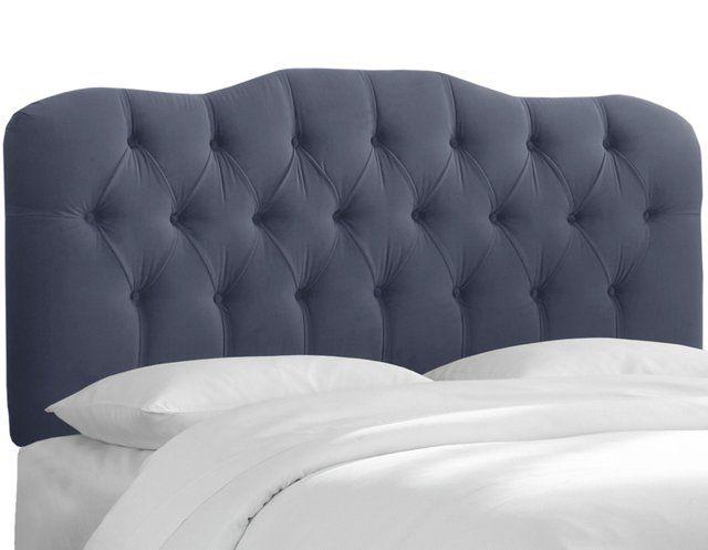 Davidson Tufted Headboard, Blue Velvet | For the Home | Pinterest