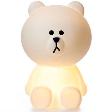 Lampe A Poser A Led En Polypropylene Ours Brown Mr Maria Pm