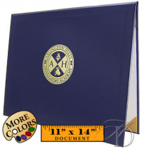 Diploma cover with your logo, minimum of 10   HomeschoolDiploma.com