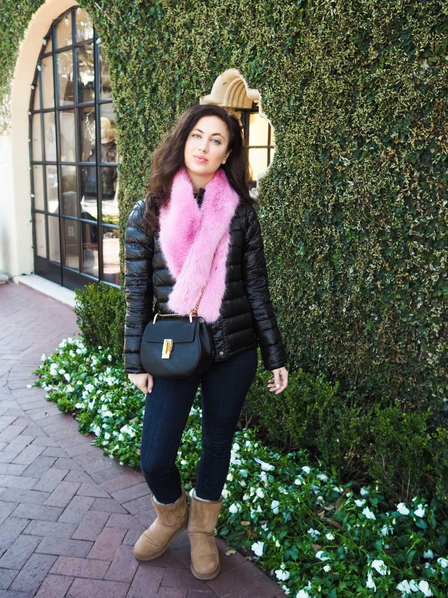 38748b75eb Dallas fashion blogger  puffer coat