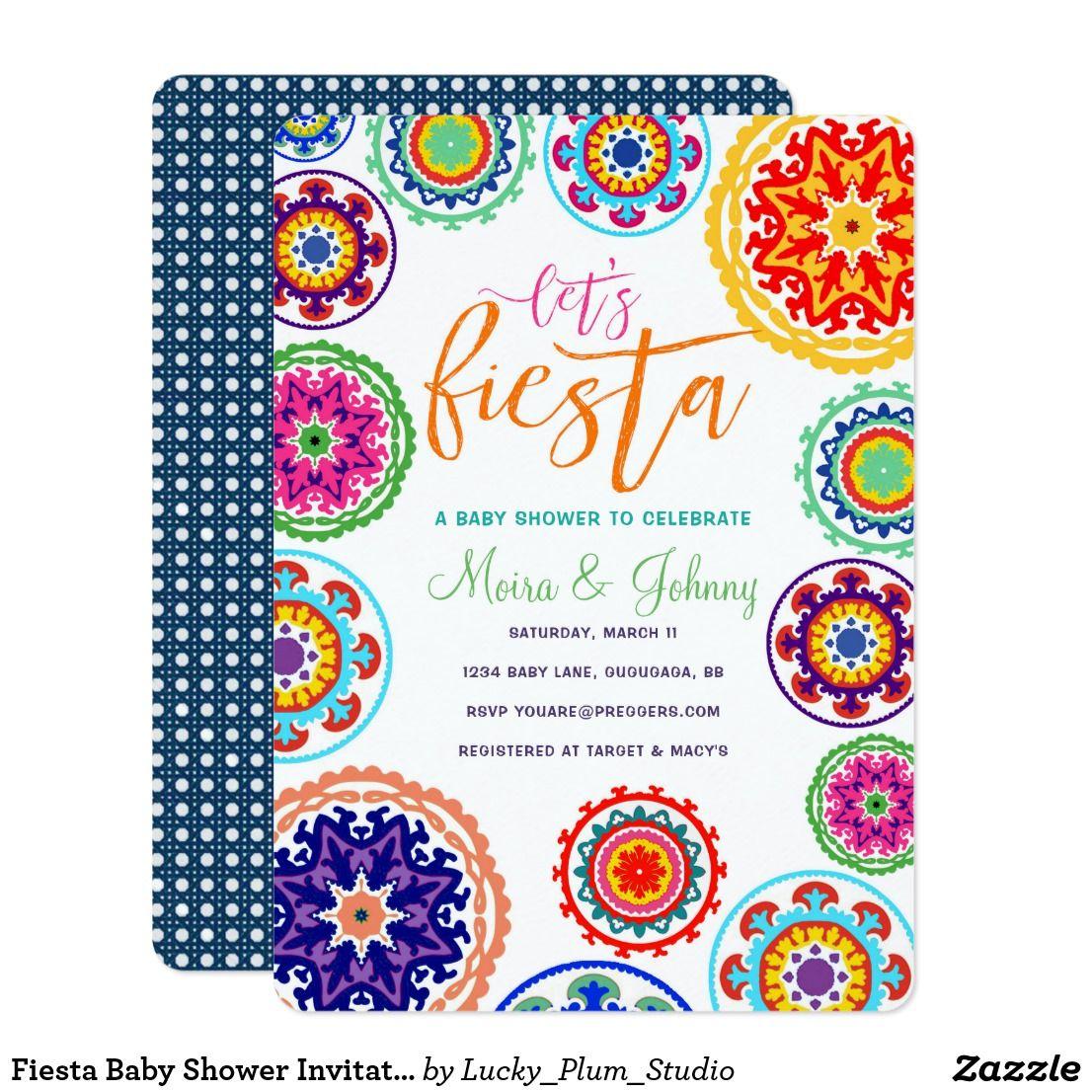 Fiesta Baby Shower Invitation | Baby Shower | Pinterest | Babies ...