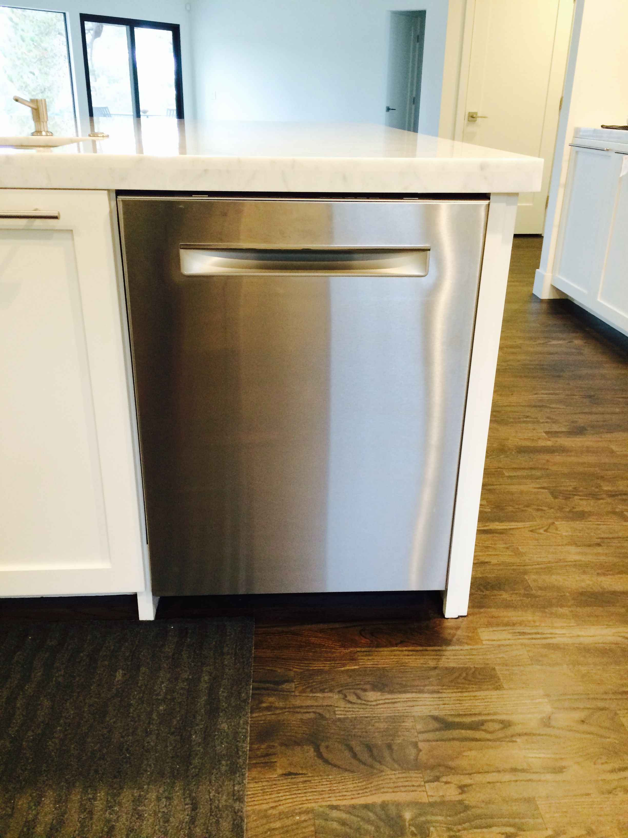 Bosch dishwasher in island highly love how