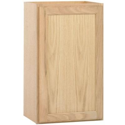 Best Null 18X30X12 In Wall Cabinet In Unfinished Oak Wall 400 x 300