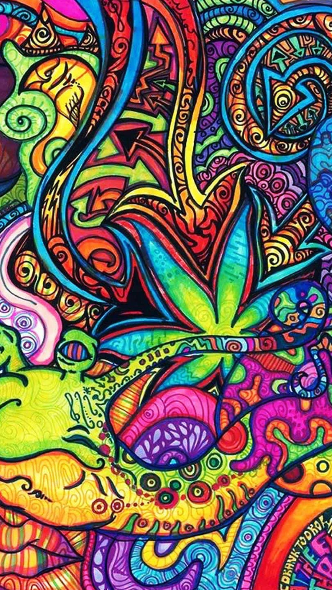 Psychedelic Trippy Backgrounds For Desktop Android iPhone HD | ∂Ѧηї℮ℓ in 2019 | Trippy iphone ...