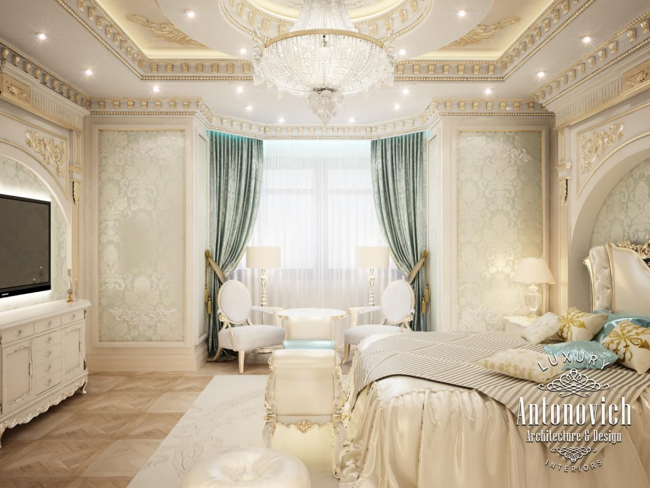 Bedroom Design In Dubai, Gorgeous Bedroom, Photo 2