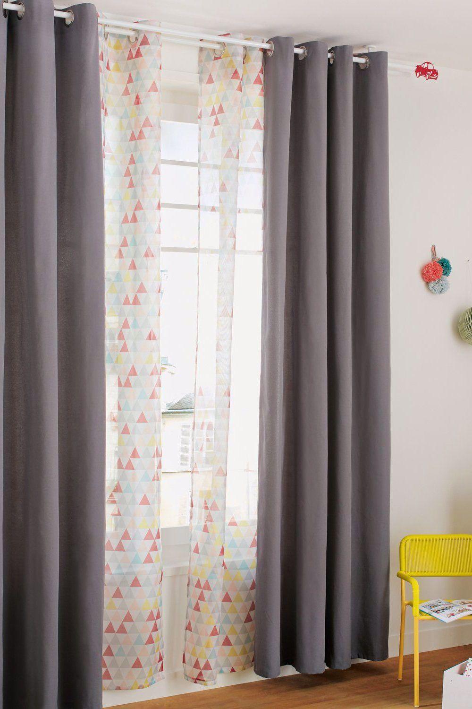 Des Rideaux Pour Chambre D Enfants A Motifs Leroy Merlin In 2020 Home Decor Room Kids Design