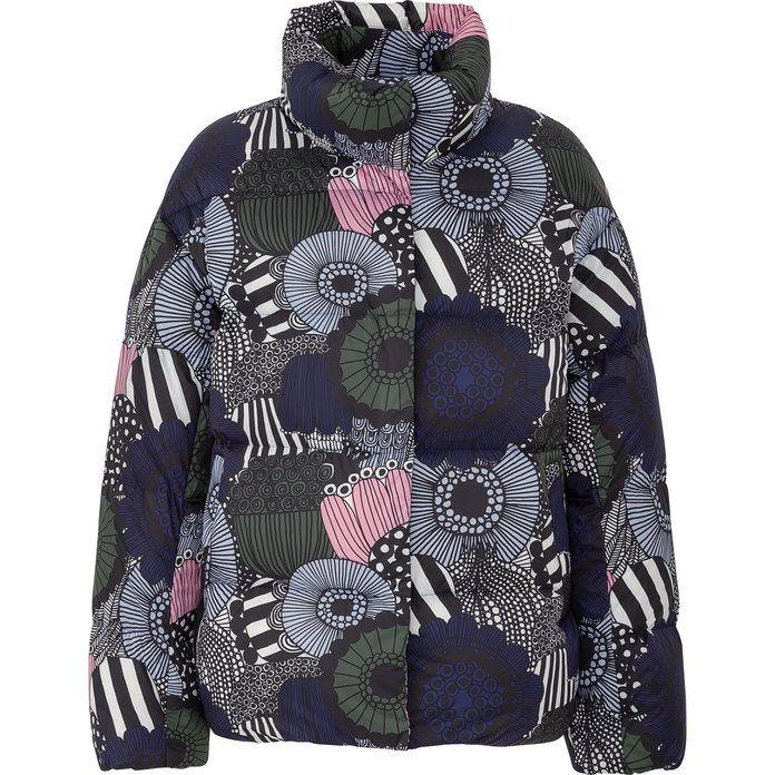 This Uniqlo x Marimekko Puffer Cocoon Coat Looks Like a