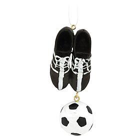 soccer cleats #soccer #soccercleats #ornament #Christmas $5.99 #BronnersChristmasWonderland #Bronners