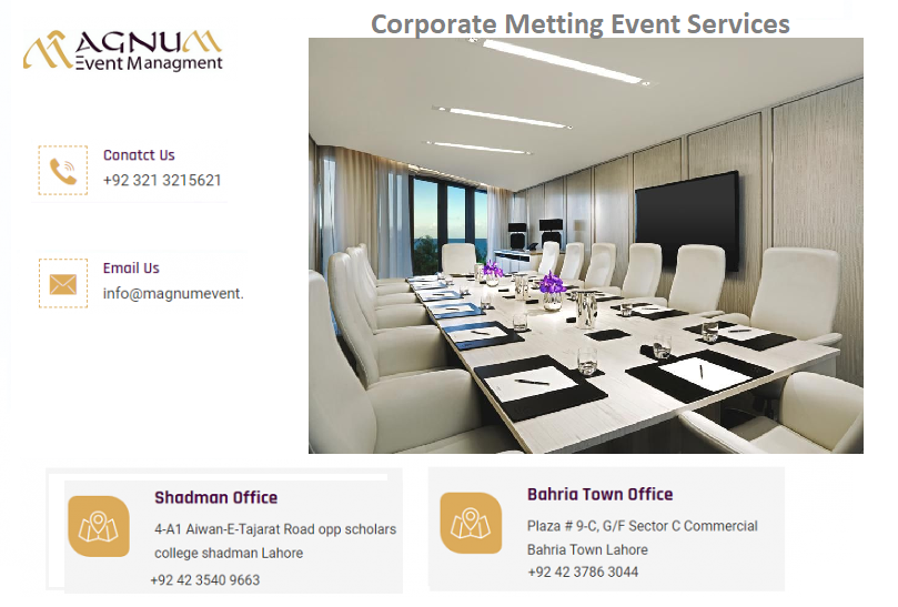 Magnum Corporate Meeting Event Service Event Management Event Management Company Event Solutions