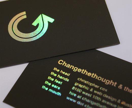 Foil Blocked Business Card 4 Ground Foil Business Cards Foil Stamped Business Cards Business Card Inspiration