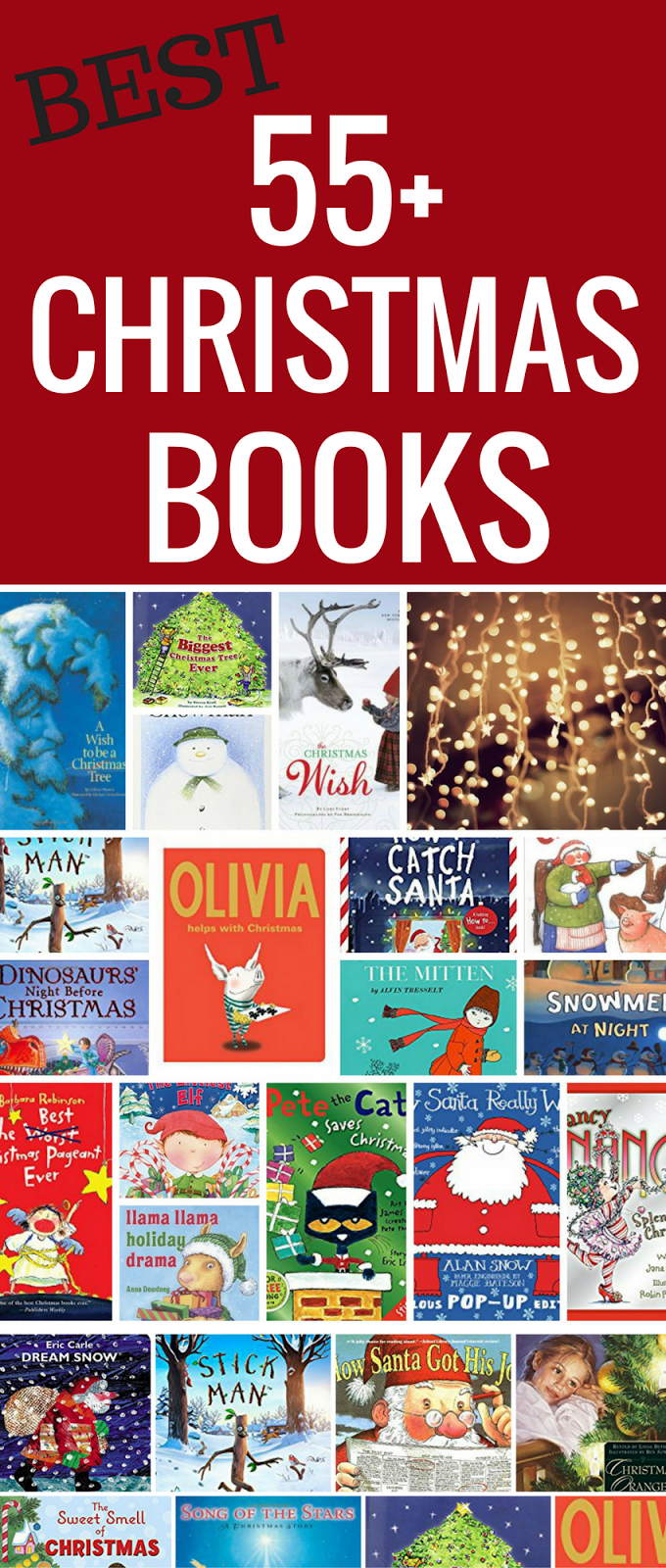 55 best christmas books for kids must have christmas stories to read to children get ready for christmas with these popular childrens christmas books