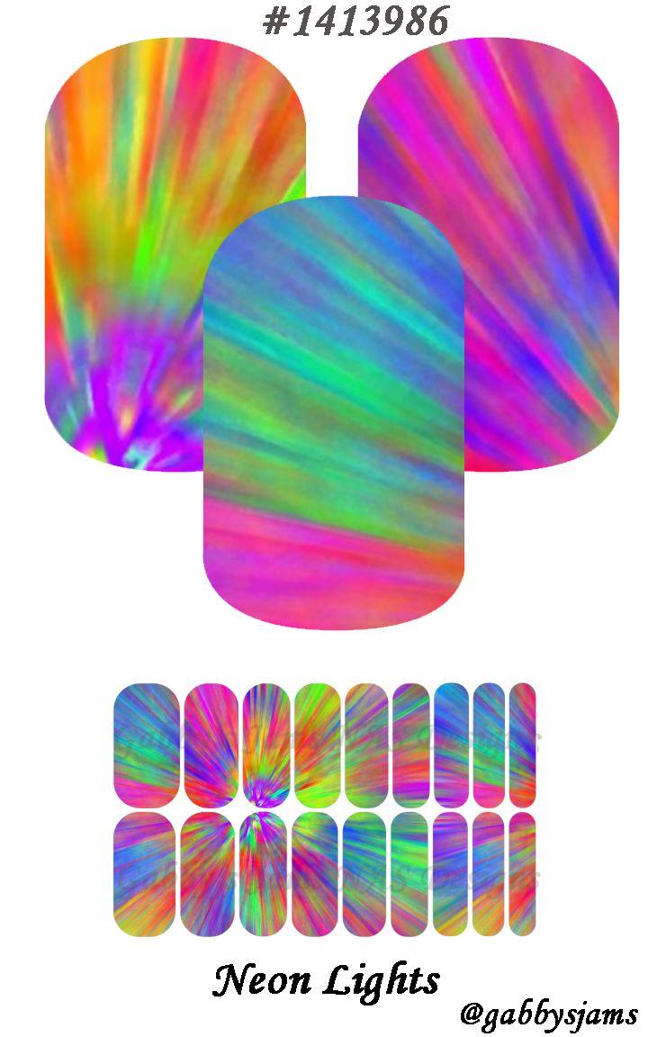 Gabbys Jams NAS Designs Jamberry NAS Wraps Neon Lights. Shop online: https://www.jamberry.com/us/en/shop/marketplace/gabbysjams   Come check our my groups: https://www.facebook.com/gabbysjams or https://www.facebook.com/groups/gabbysjamsnasdesigns
