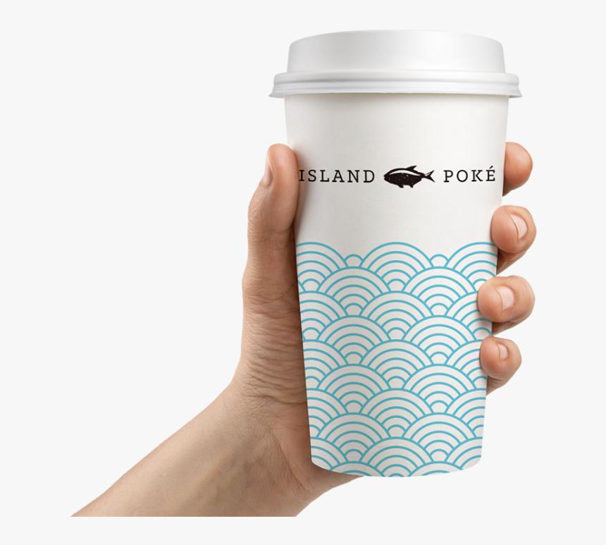 Island Poke Graphic Design Packaging Coffee Cup Paper Graphic Design Packaging Paper Coffee Cup Packaging Design