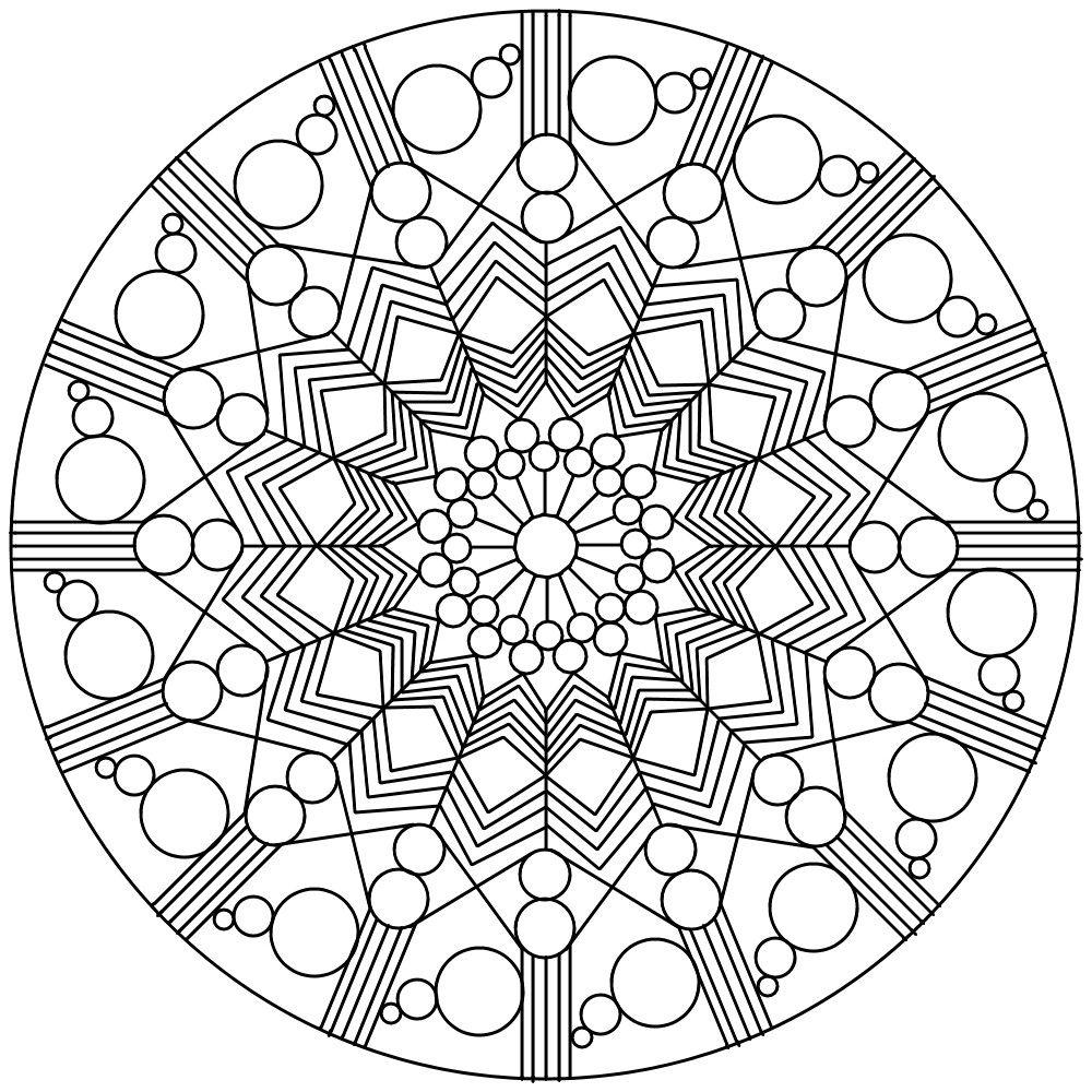 Mandala 76 By Sadadoki On Deviantart Mandala Coloring Pages Coloring Pages Pattern Coloring Pages