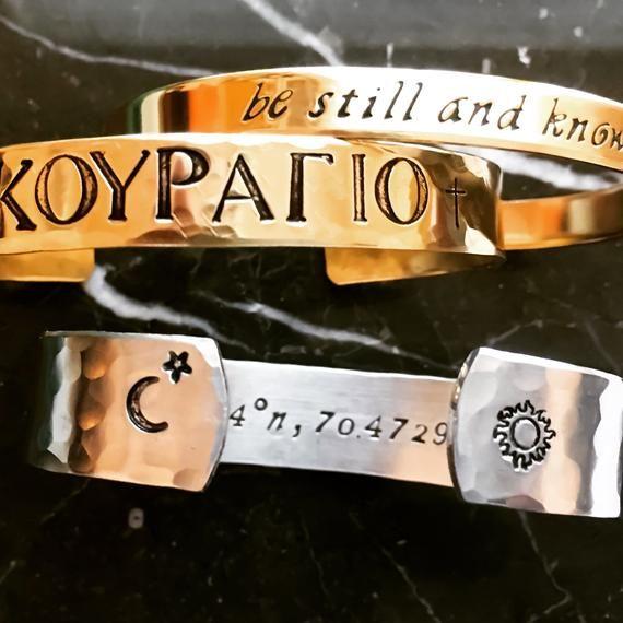 Custom Bracelet Handmade Bracelet Cuff Customizable
