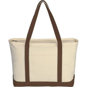 Large Heavy Cotton Canvas Boat Tote. #promotional_products #printing