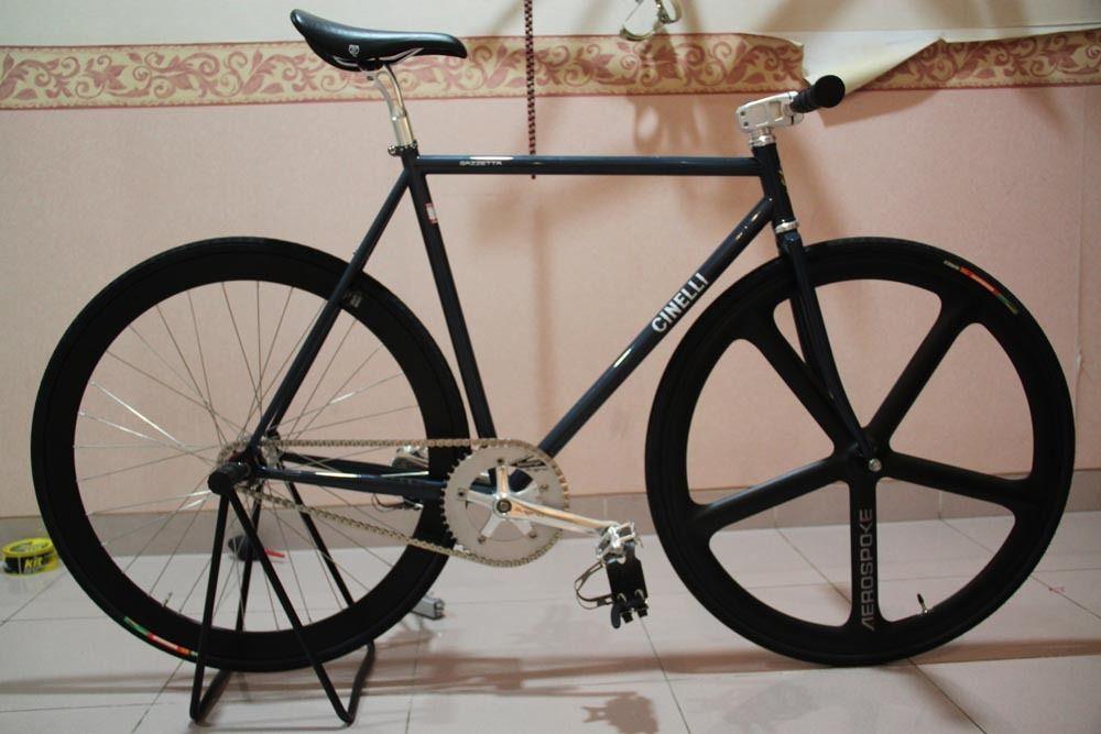 Cinelli Gazzetta 52cm Fixed Gear Bike Bike Fixie Bike