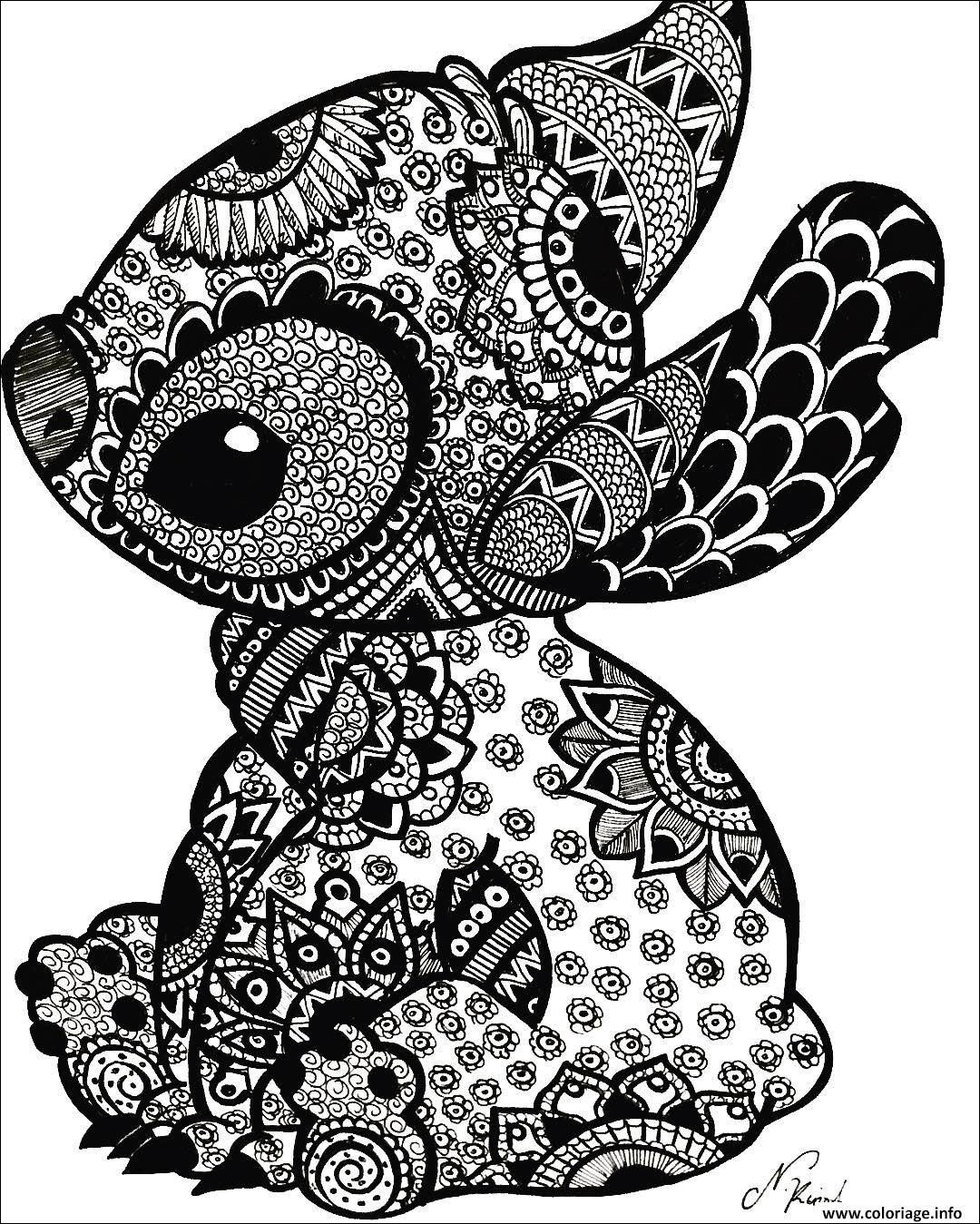 15++ Stitch mandala svg free trends