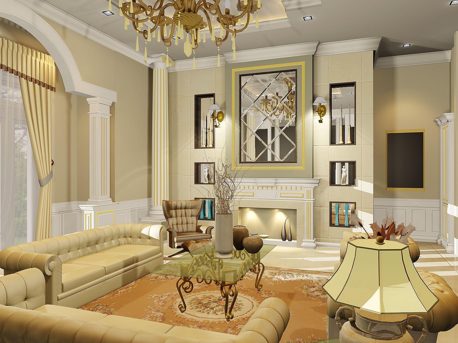 Classic Interior Design Wallpapers Description Luxury Classic