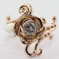 would make for a very pretty ring but not very logical