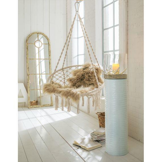 h ngesessel nizza inkl kissen baumwolle polyester vorderansicht inspirationen pinte. Black Bedroom Furniture Sets. Home Design Ideas