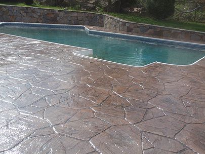 Appalachian Flagstone [stamped] | Patio | Pinterest | Concrete ...