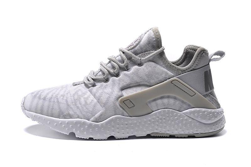 buy online 31cc5 5a3e7 Mens Womens Nike Air Huarache Run Ultra Running Shoes Jacquard White  Metallic Silver Wolf Grey 818061 100. http   www.fryohobuy.com homme-air- huarache-