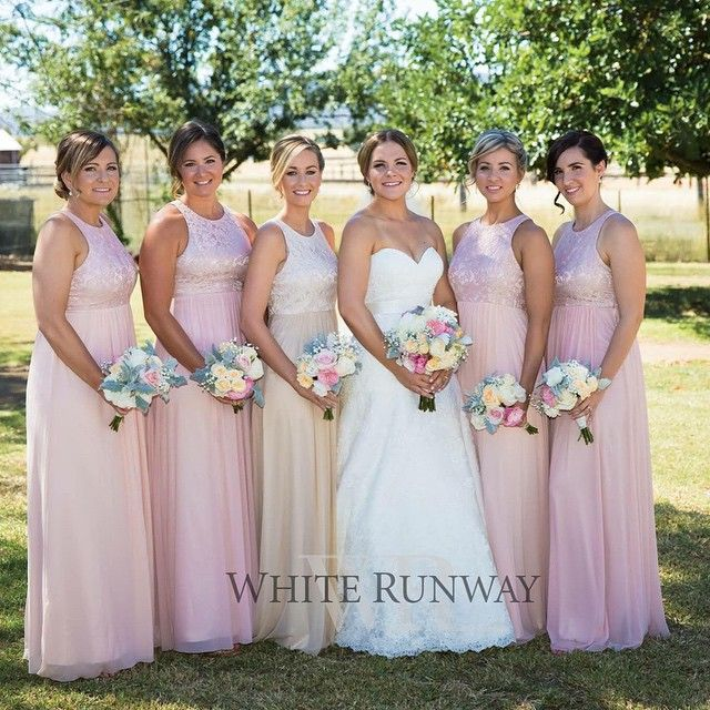 a00ca00010 Aneeta Lace Dress By Samantha Rose. Beautiful full length bridesmaid dress  by Samantha Rose. A flattering style featuring a stunning lace bodice and  stretch ...