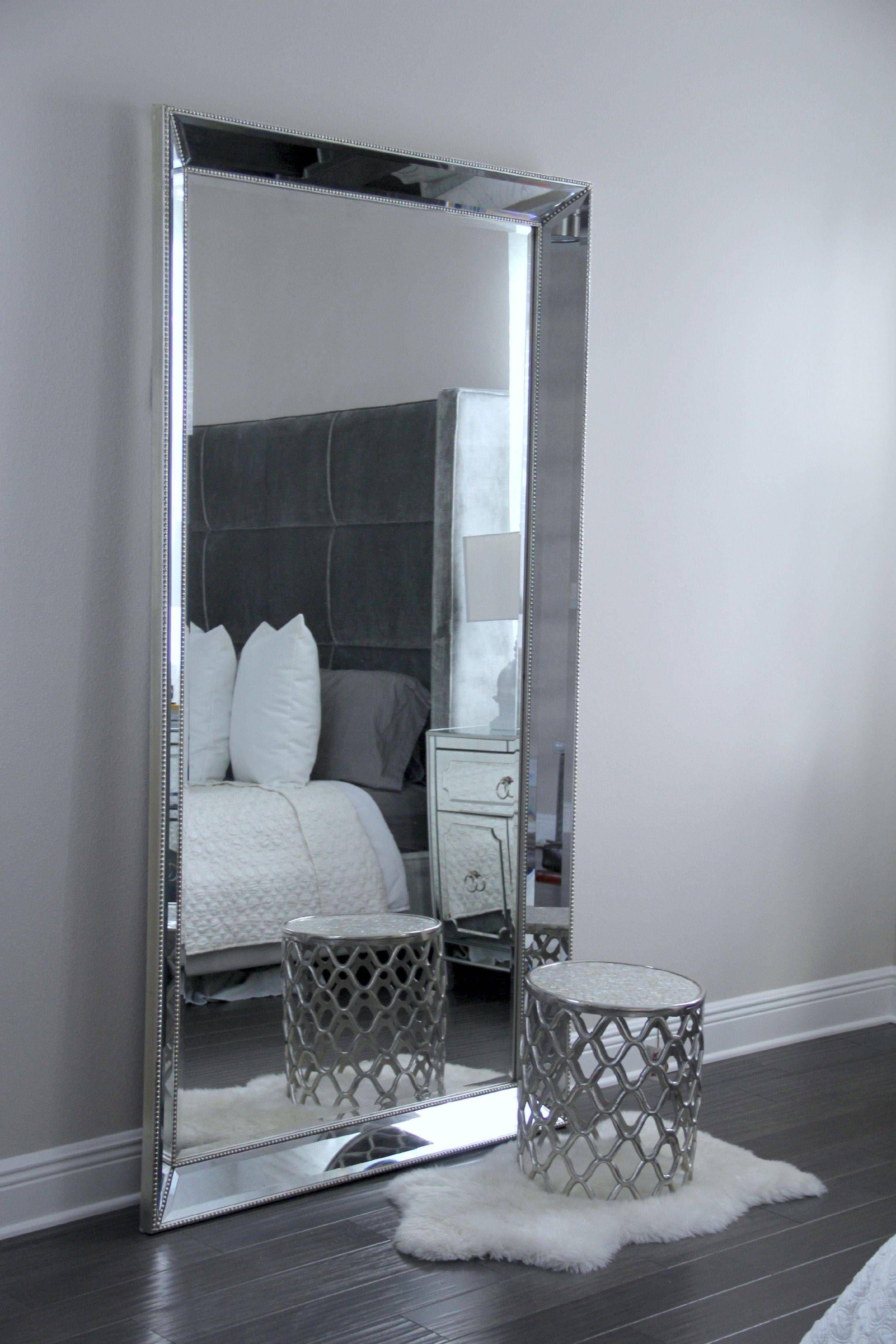 Decorative Full Length Mirror Mirrored Bedroom Furniture Room Decor Home Decor