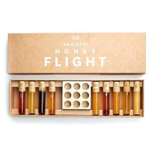 Bee Raw 9 Varietal Honey Flight Honey Flight Varietal Honey Honey Packaging