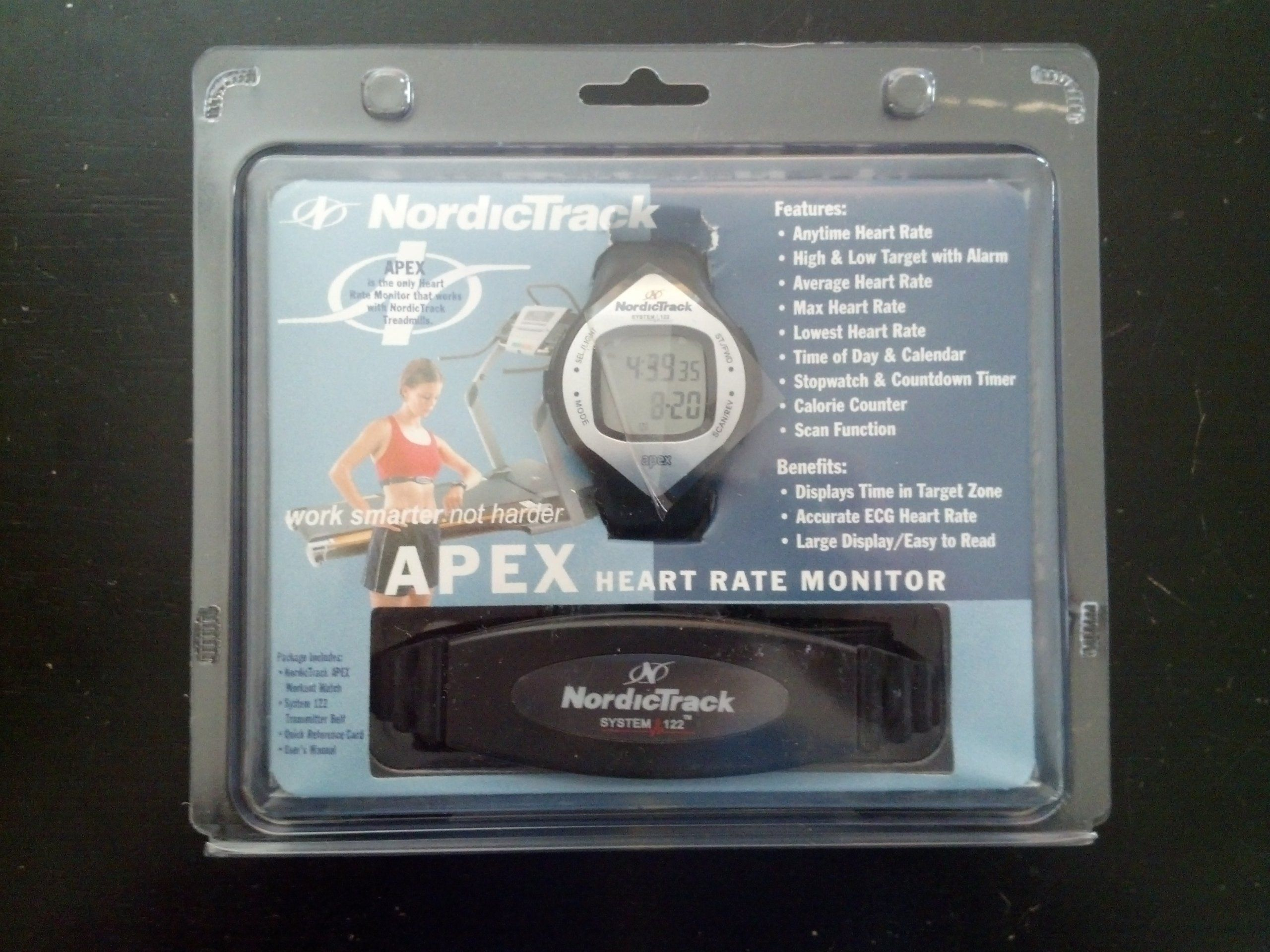 Nordic Track NTHRAX4 NT Heart Rate Monitor APEX  Wrist watch