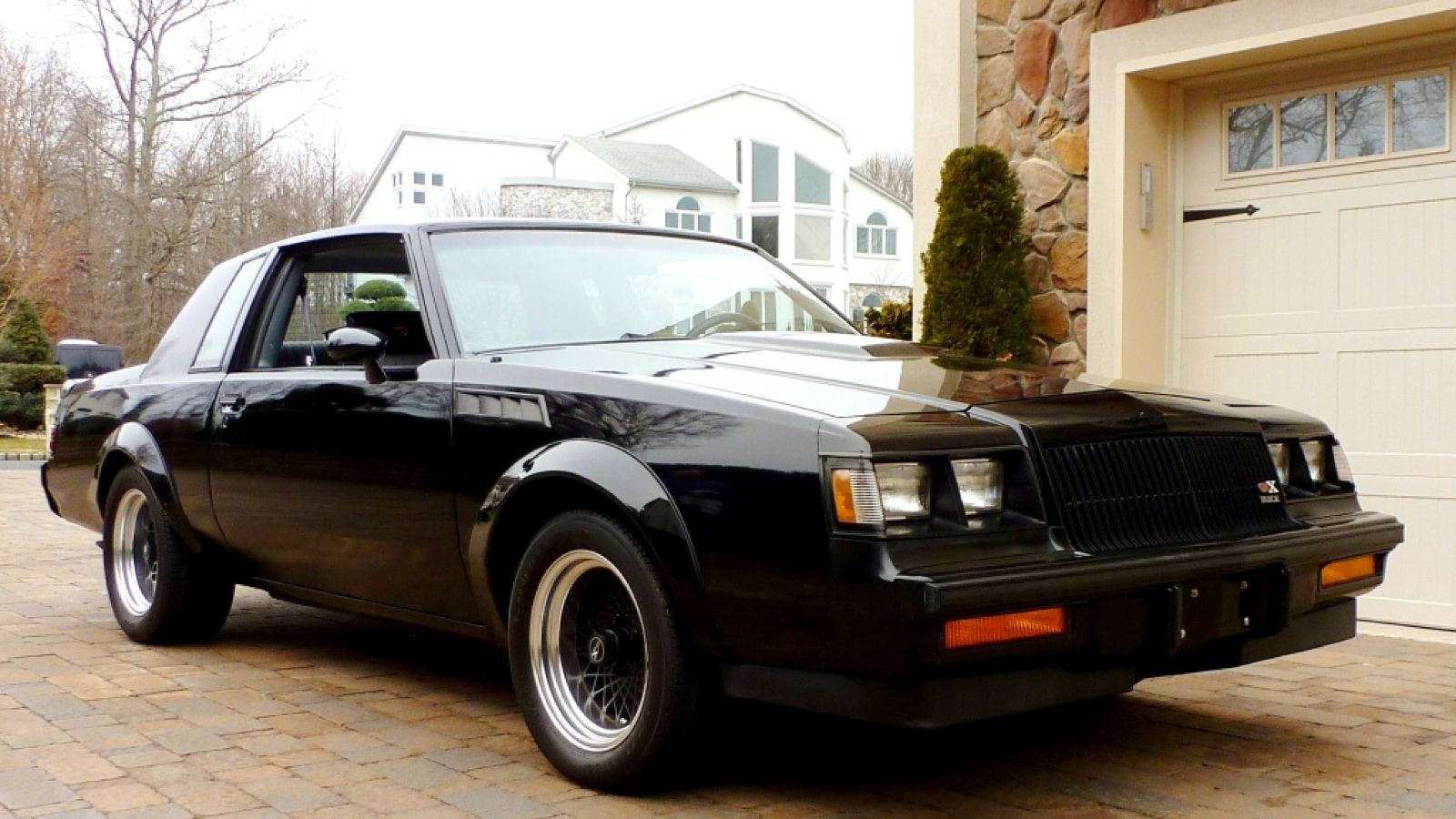 Essentially a buick regal grand national with a huge turbocharged v6 engine and an astronomical amount