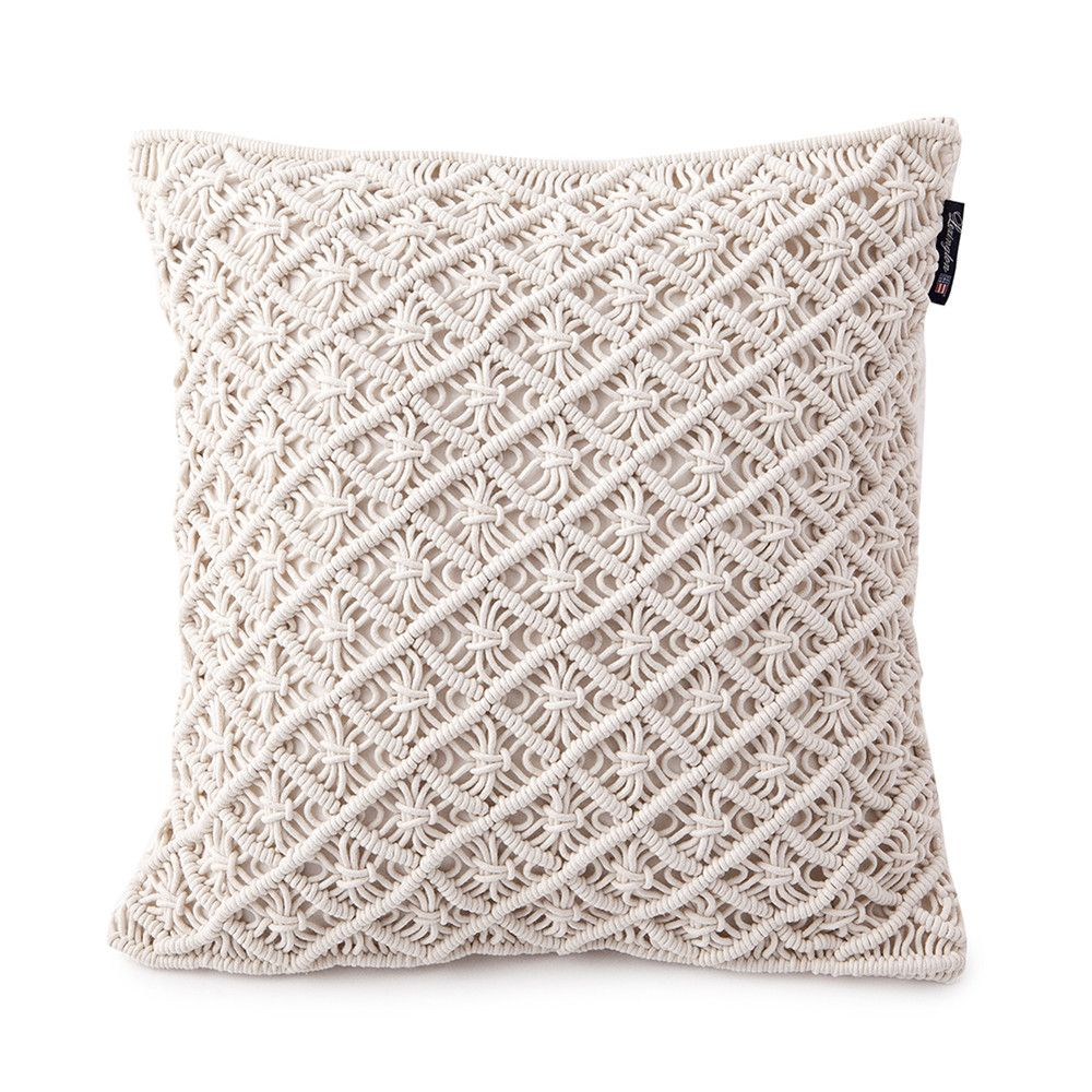 Discover the lexington seaside macrame cushion cover xcm at