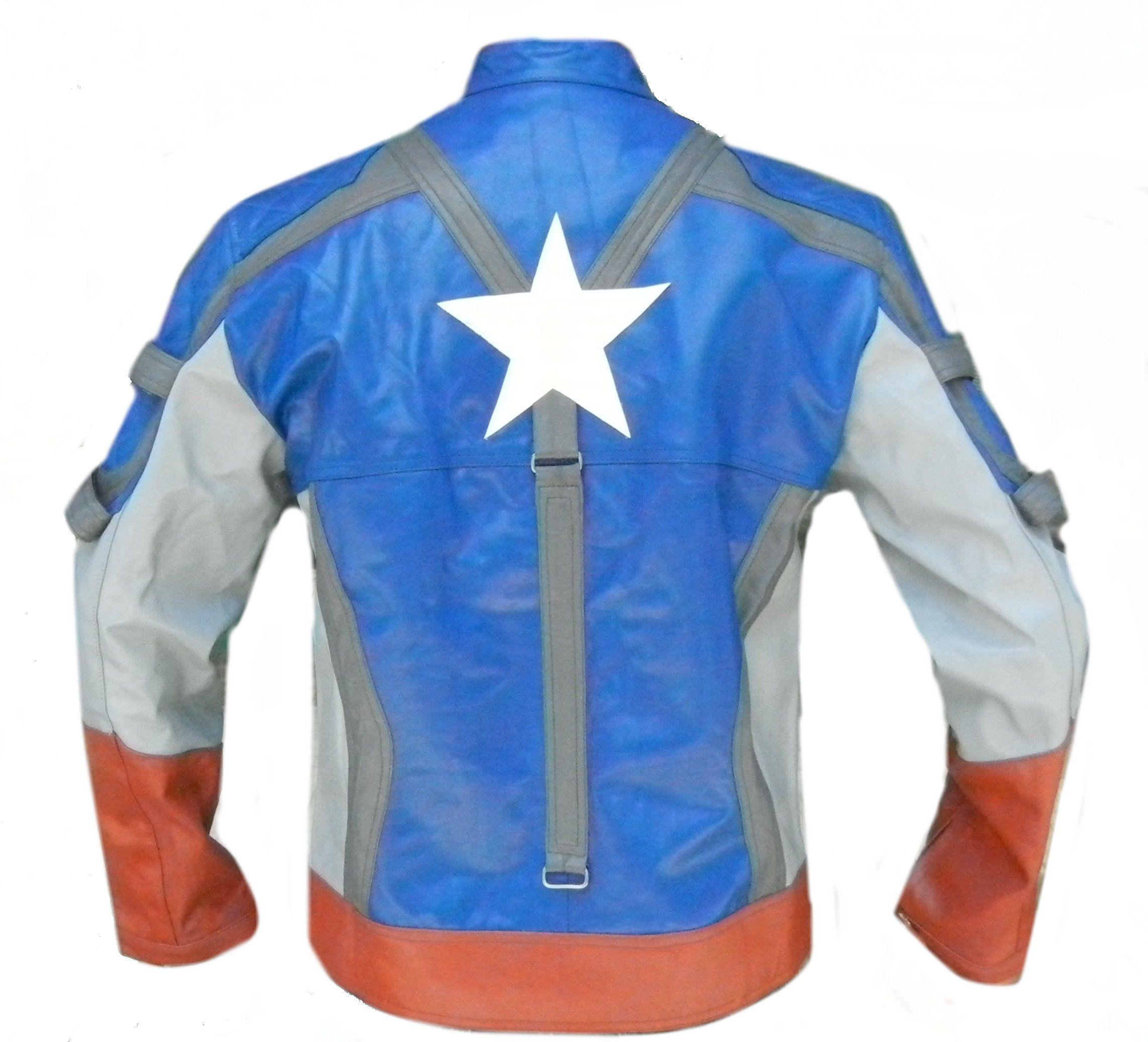 Classyak Captain America Genuine Leather Jacket Xs 5xl 3xl Jackets Genuine Leather Jackets Leather Jacket [ 2073 x 2285 Pixel ]
