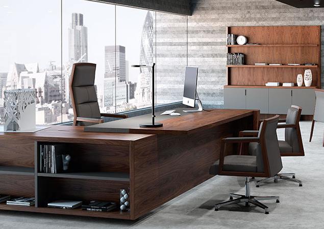 Mesas De Dirección Despachos Escritório De Luxo Design De Escritório De Advocacia Interior De Design