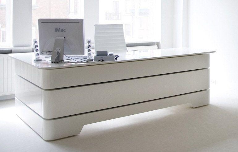 White Executive Desk With Drawers design executive desk ceo collectionmascagni | design