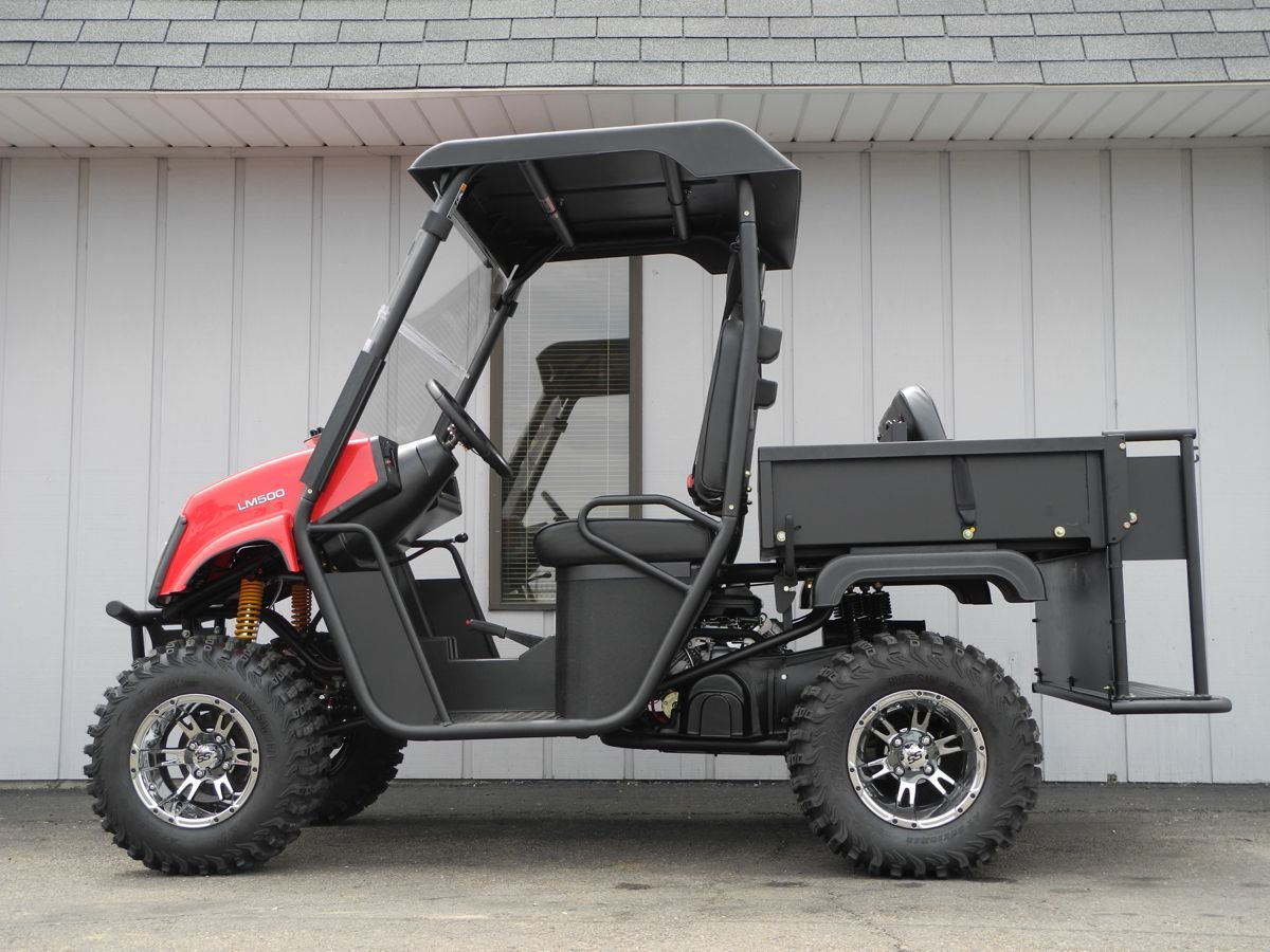 The new Landmaster LM500 4x4 side-by-side UTV is now in stock
