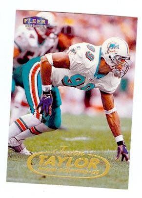 huge selection of 2c9d5 70bfe jason taylor football card | Jason Taylor Dolphins Signed ...