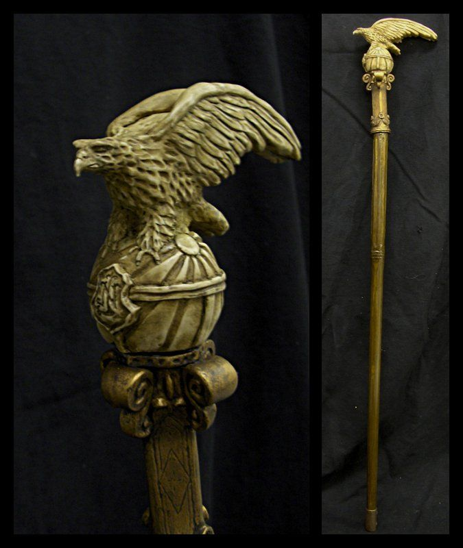 A walking stick for an emperor. Just a pity that the intended recipient has been dead for some 130 years... Oh well, that's life -- or, er, death -- for ya. As another part of the culture/style his...