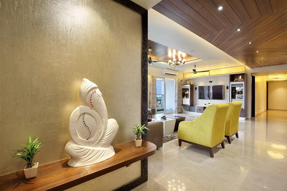 Sunny Shah Vadodara Gujarat India Foyer Design