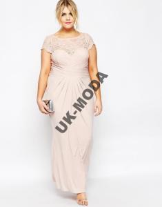 Asos Maxi Sukienka Koronkowa Gora Duze Rozmiary 50 5935647061 Oficjalne Archiwum Allegro Fashion Dresses Dresses For Work