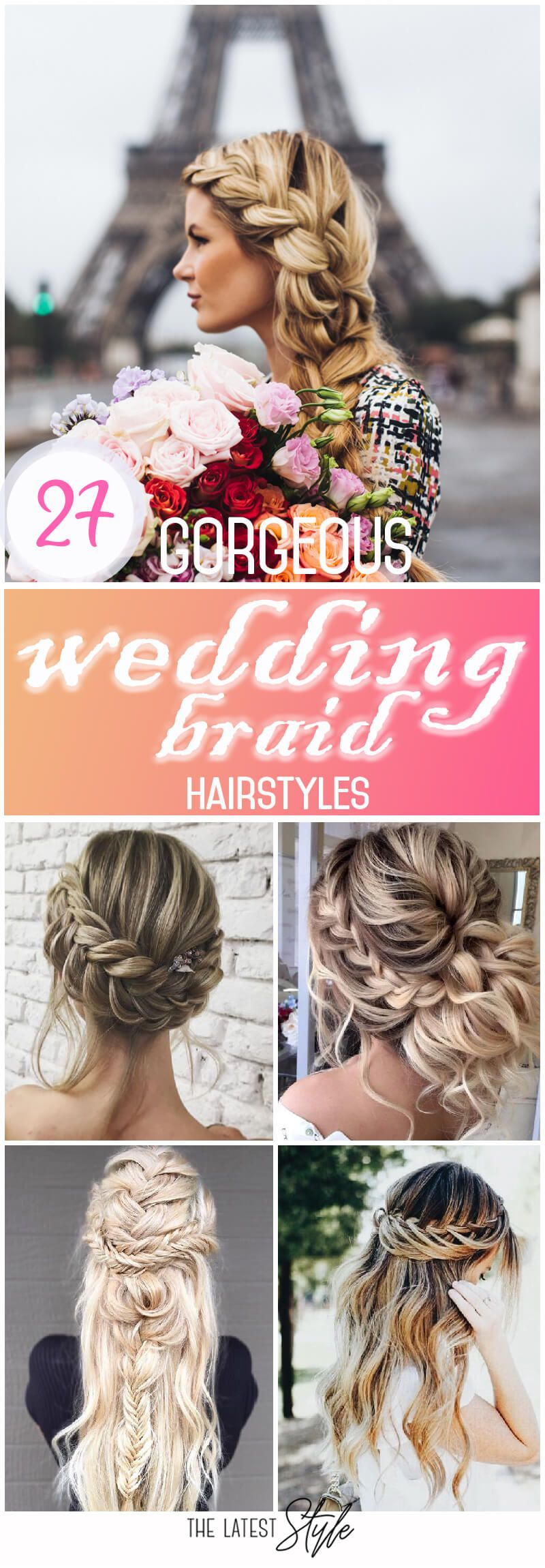 Deciding how to style your hair for your wedding can be as exciting